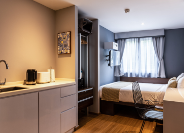 Studio Single Apartment - 3D2N Staycation Package
